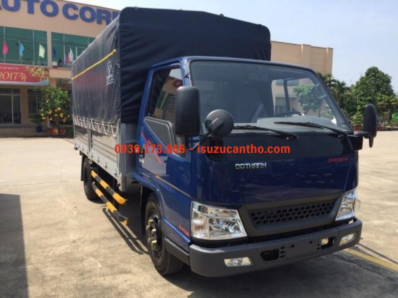 Hyundai IZ49 2 tấn 4 thùng mui bạc máy isuzu