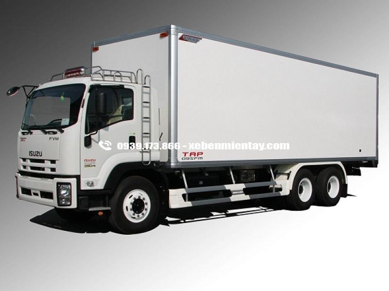 xe tải isuzu đông lạnh 15 tấn FVM34W