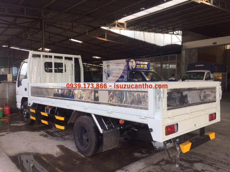 Xe tải ISUZU QKR55H 2 tấn 2 thùng mui bạt