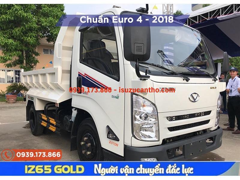 Xe Tải IZ65 GOLD Đô Thành Thùng Ben NEW 2018