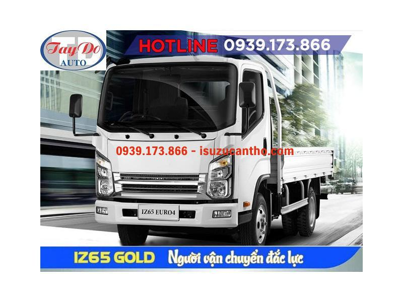 Xe Tải IZ65 GOLD Đô Thành Thùng Lửng NEW 2018