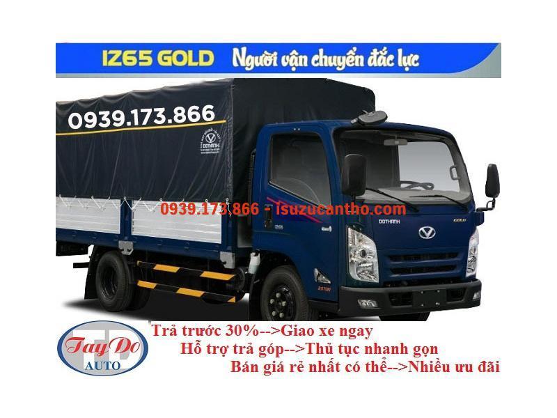 Xe Tải IZ65 GOLD Đô Thành Thùng Mui Bạt NEW 2018
