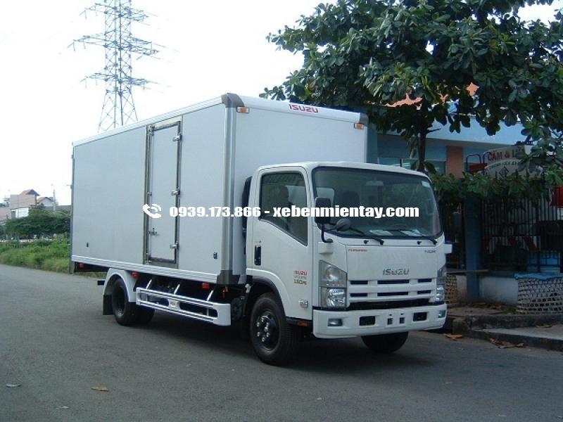 Xe tải thùng đông lạnh isuzu 5 tấn 5 NQR75L