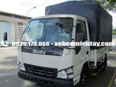 Xe tải ISUZU QKR55H 1.9 tấn thùng mui bạt